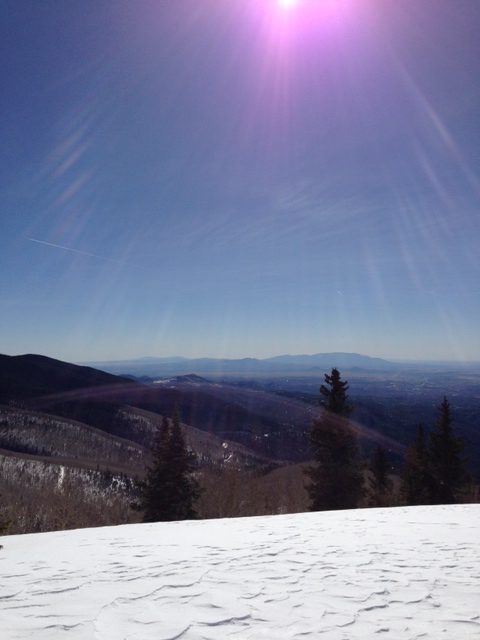 Ski Santa Fe view