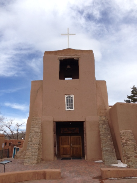 Oldest Church in the US-San Miguel Mission c. 1610