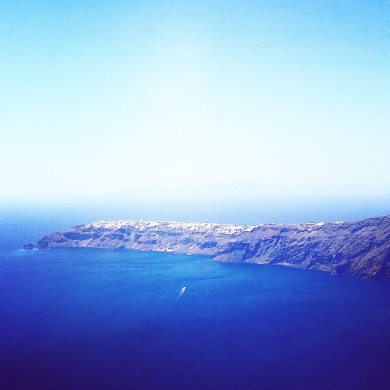 View of Oia from Imerovigli