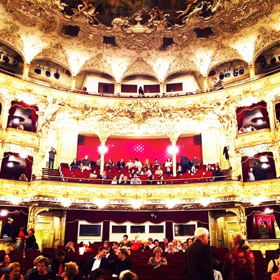 The stunning State Opera in Prague